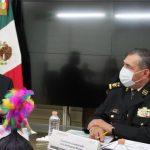 La embajada de Japón en México y la Guardia Nacional, acuerdan fortalecer los esquemas de coordinación e intercambio de información