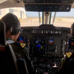 Mujeres navales comandan aviones King Air 350 ER versión Patrulla Aérea y Vigilancia Marítima de la Armada de México