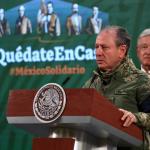 La Secretaría de Marina-Armada de México brinda informe de acciones emprendidas en materia de seguridad en el mar, en el aire y en la tierra