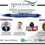 CIBERSEGURIDAD, RIESGOS EN REDES Y PROTECCIÓN DE DATOS PERSONALES