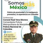 Conferencia: Policía de proximidad y la inteligencia preventiva, la experiencia en Colombia