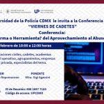 """Conferencia: """"Tecnología ¿arma o herramienta? del aprovechamiento al abuso de las redes"""""""