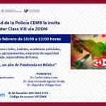 "Master Class ""Bioseguridad, un año de Pandemia en México"""