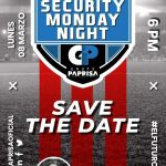 Save the date: Security Monday Night
