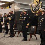 MARINA realiza Entrega-Recepción de los cargos de Oficial Mayor de Marina y Jefe del Estado Mayor General de la Armada