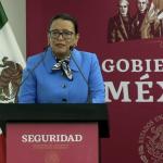 """MENSAJE DE LA SECRETARIA DE SEGURIDAD Y PROTECCIÓN CIUDADANA, ROSA ICELA RODRÍGUEZ, DURANTE SU PARTICIPACIÓN EN LA """"CONFERENCIA DE PRENSA POR LA TEMPORADA DE CICLONES 2021."""