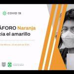 Continúa Ciudad de México en Semáforo Naranja hacia Amarillo