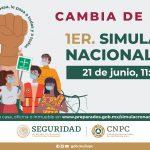 Se cambia fecha del Simulacro Nacional 2021