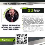 """Conferencia Magistral """"La seguridad en México bajo 3 generaciones delictivas"""""""