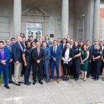 Reunión de trabajo con Oficina de Aduanas y Protección Fronteriza de EU, contra tráfico ilícito de armas