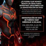 "DuPont Personal Protection te invita a ""Prueba real contra fuego repentino – Thermo-Man®"""