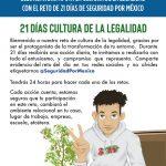 21 DÍAS CULTURA DE LA LEGALIDAD