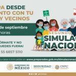SEGUNDO SIMULACRO NACIONAL 2021