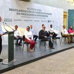 REGULARIZACIÓN DE VEHÍCULOS USADOS DE PROCEDENCIA EXTRANJERA DISMINUIRÁ DELITOS EN FRONTERA: SSPC