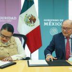 FIRMAN SSPC Y CONALEP CONVENIO PARA FOMENTAR LA CONSTRUCCIÓN DE LA PAZ ENTRE ESTUDIANTES