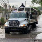 GUARDIA NACIONAL MANTIENE APOYO A FAMILIAS AFECTADAS POR LAS INUNDACIONES EN MUNICIPIOS DE QUERÉTARO
